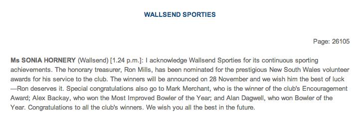 CRS - Wallsend Sporties
